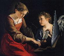 Gentileschi_-_Saint_Cecilia
