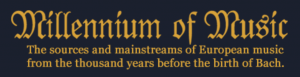 Millennium of Music logo