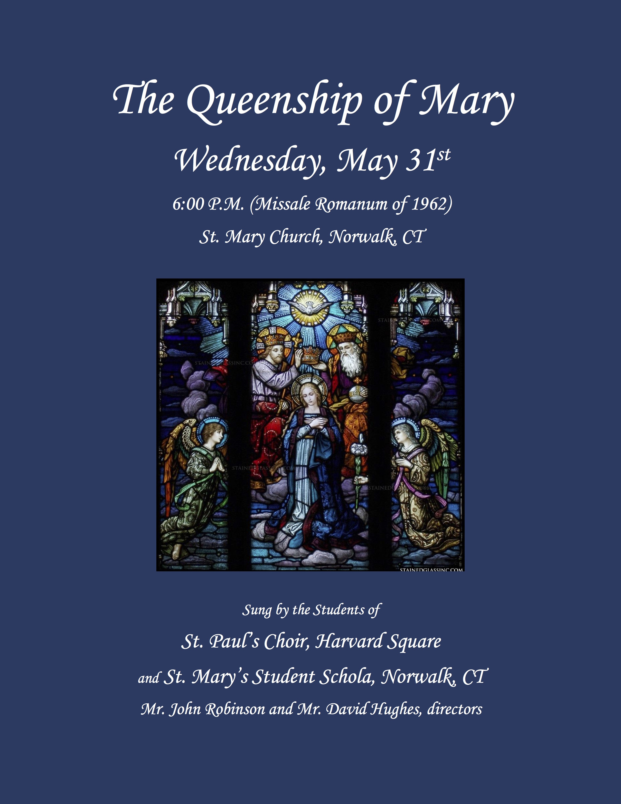 Queenship of Mary flyer-1