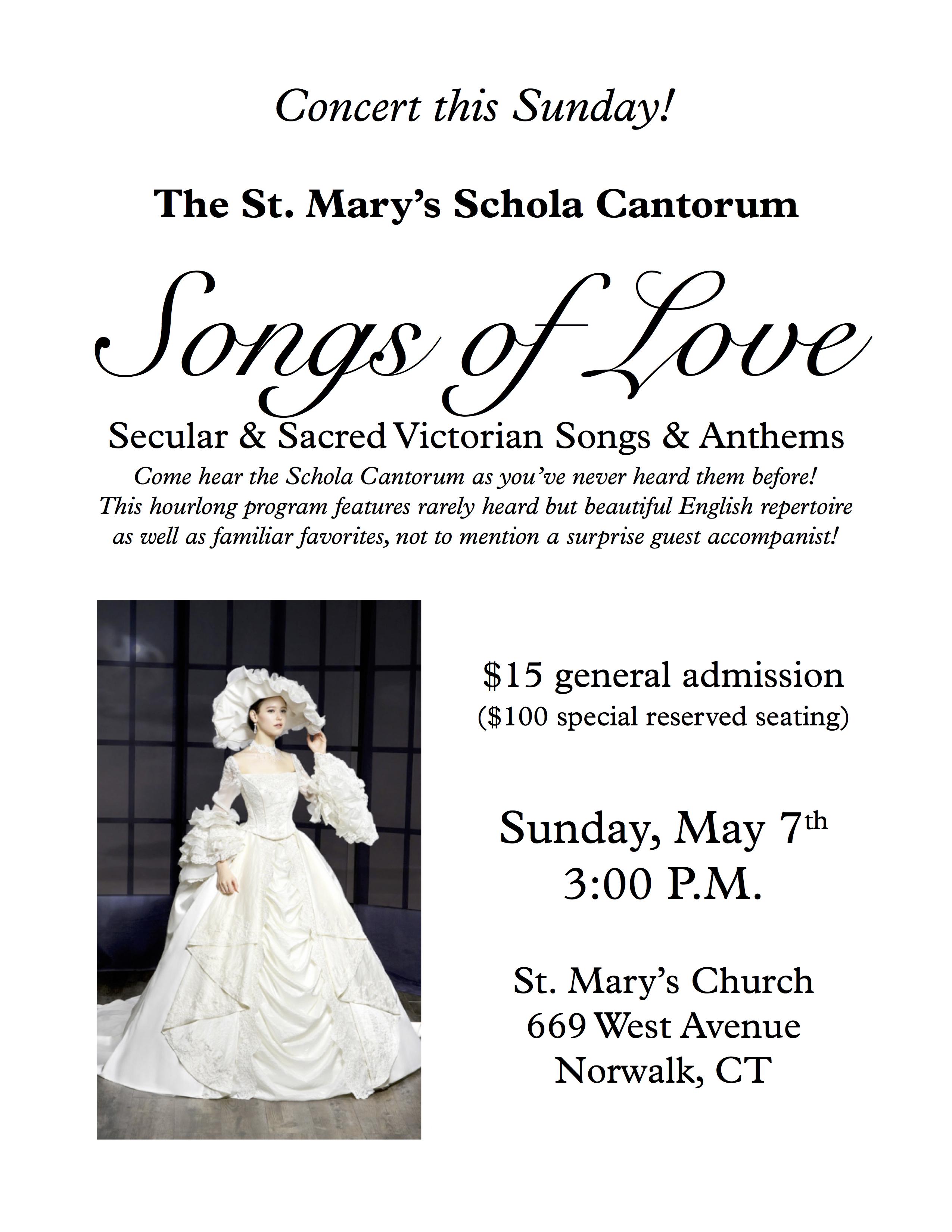Schola concert - 7 May 2017 - flyer 2.0
