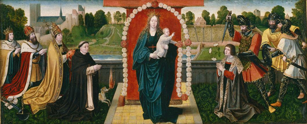 weyden_queen of the rosary